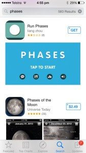 App Marketing Guide - App Store Search Landscape First Screenshot