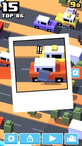 Crossy Road Game Over