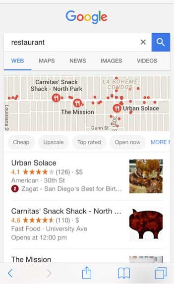 App Store Optimization - Google Results