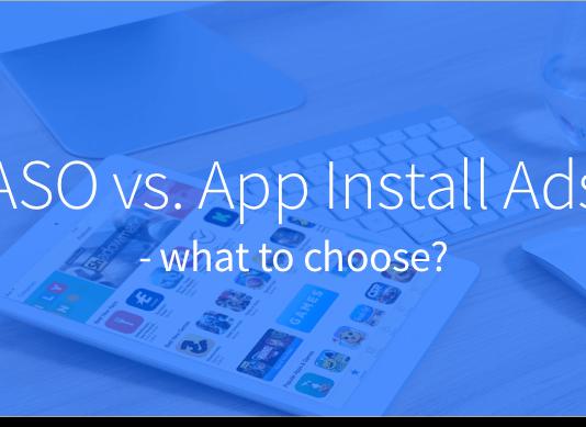 ASO vs App Install Ads